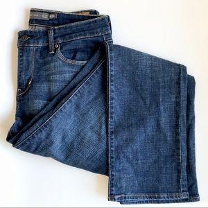 Levi's | Demi Curve Mid Rise Straight Jeans